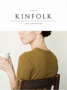 Inspiration / Magazine Wall Kinfolk / cover / minimal