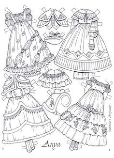 Recortables. Paper dolls 1 – Yakira Chandrani – Picasa Nettalbum