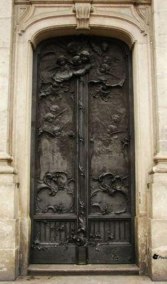 Porta da Igreja da Candelária, Rio de Janeiro, Brasil