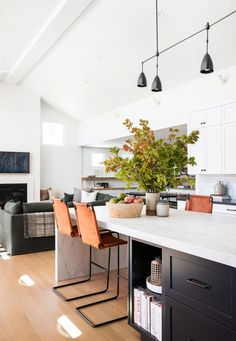 Modern Kitchen Decor : Amber Interiors – Client Say No Morrison – All Sorts Of Interior Desing, Interior Design Kitchen, Interior Decorating, Decorating Tips, Interior Architecture, New Kitchen, Kitchen Decor, Kitchen Island, Amber Interiors