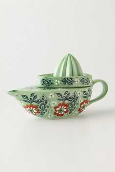 Just bought this today from Anthropologie. It will be great to keep fresh lemon, lime or orange juice in, so I can just add it to a glass of water.
