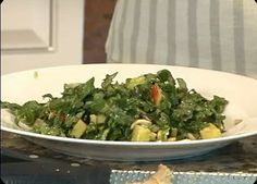 The Best Raw Kale Salad Ever Recipe - my favorite raw kale salad - I use a pear instead of an apple