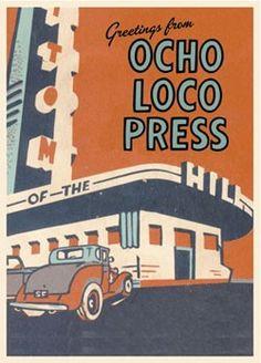 ocho loco press