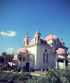 The Church of Seven Apostles is a Greek Orthodox church located at the shore of the Sea of Galilee near #Capernaum in #Israel #kitsakis