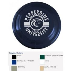USA Made Recycled Frisbee - Multiple Sizes | Eco Promotional Products, Environmentally and Socially Responsible Promotional Products