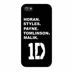 One Direction six iPhone 5/5s Case