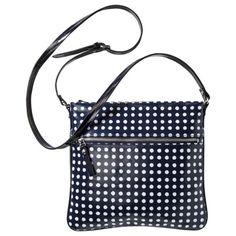 Merona® Dotted Crossbody Bag - Blue