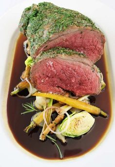 Bucket list Destination Restaurant for Ohio. Leg of Lamb from Orchids at Palm Court, Cincinnati, Ohio Restaurant Trends, Cincinnati, Lamb, Orchids, Ohio, Pork, Bucket, Menu, Dishes