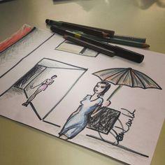 ilustração + observação - Lou Raulik