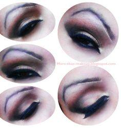 brown and black smokey eyes tutorial http://more-than-makeup.blogspot.it/2013/12/brown-and-black-smokey-eyes-tutorial.html#more