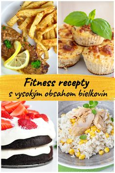 Easy, tasty and healthy high-protein fitness recipes. You will find here healthy inspirations for breakfast, lunch, dinner, snack or desserts that are rich in protein. Proteins are an important part of a healthy and b. Rich In Protein, High Protein, Le Diner, Tofu, Baked Potato, Smoothie, Food And Drink, Low Carb, Tasty
