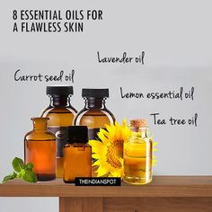 8 Best Essential Oils for a Flawless Skin