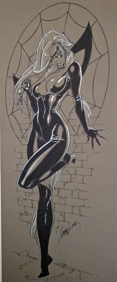 J Scott Campbell Black Cat
