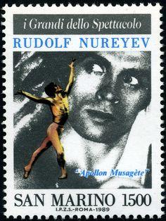 Rudolf Hametovic Nureyev (1938-1993) by Alfredo Liverani, via Flickr