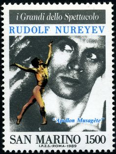 Rudolf Hametovic Nureyev (1938-1993) by Alfredo Liverani, via Flickr