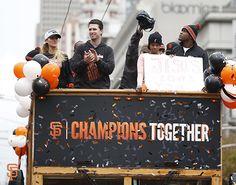 #ChampionsTogether San Francisco Baseball, San Francisco Giants, Baseball Season, Baseball Players, World Series Parade, Player Quotes, Giant Games, Giants Baseball, Buster Posey
