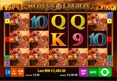 994 times the triggering bet on Roman Legion slot game by Gamomat.
