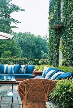 Blue Outdoor Living