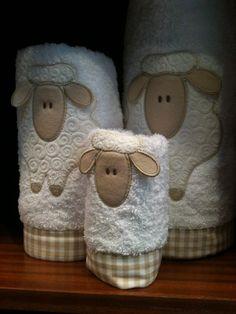 Sheep Towels