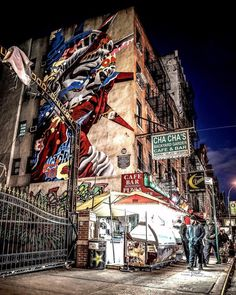 Little Italy Graffiti by Cory Schloss by newyorkcityfeelings.com - The Best Photos and Videos of New York City including the Statue of Liberty Brooklyn Bridge Central Park Empire State Building Chrysler Building and other popular New York places and attractions.