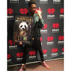 Congratulations to #Desiigner!! #Panda sold over 1 million copies ! by theshaderoom