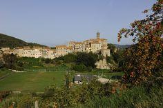 View of Sasso Pisano - Tuscany #volterratur