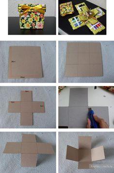 Ataúd para el cuadro de la costura para los pequeños elementos con tus manos