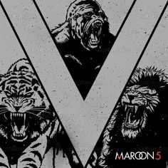 Check out this design by Kim Asuncion for the Maroon 5 design contest on Creative Allies!