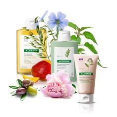 Pariază pe efectele naturale ale plantelor! Brandul Klorane crede că pentru fiecare problemă exista câte o plantă și, drept urmare, este adevărat. Încearcă puterea de vindecare a plantelor : bujori, urzică, ovăz, in, mango, măsline și alte plante. Mango, Shampoo, Personal Care, Bottle, Plant, Manga, Self Care, Personal Hygiene, Flask
