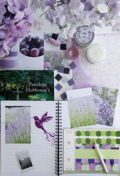 a creative mint: Shades of Purple via http://designlovely.tumblr.com