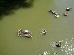 Tubing on the Dan River. Best way to spend a hot summer day, hands down.