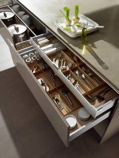 SieMatic lade-indeling.