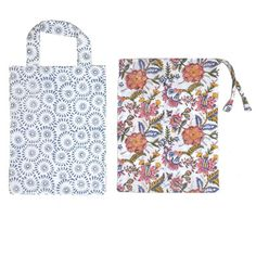 Check out a few designs of block printed cotton bags on our website http://www.moharis.com/moharis-block-print/bags-and-pouches/