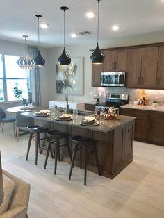 Nooks, Kitchen Organization, Ideal Home, Kitchens, House Design, Table, Furniture, Home Decor, Modern Houses