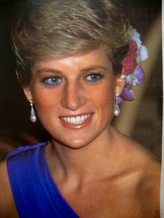What a Beautiful photo of HRH the Princess Diana Of Wales. date? late '80's.