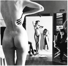Helmut_Newton una mujer alpha, dominante, dueña de su sensualidad, segura, fuerte, elegante y enigmática.