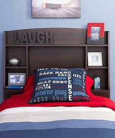 Look what I found on #zulily! Espresso Astrid Headboard #zulilyfinds