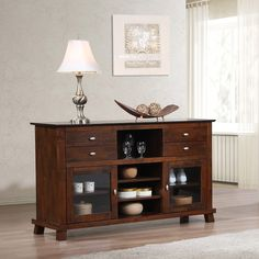 Island 2-door Buffet - Overstock™ Shopping - would probably go well with dining room table