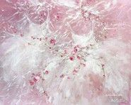 "Tutu and Roses Painting ""Sisters"" by Debi Coules"