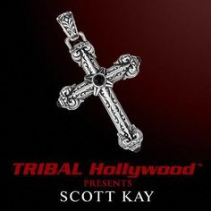 Find the best selection of Scott Kay mens jewelry at Tribal Hollywood. Choose from wedding bands, cufflinks, silver and leather bracelets, necklaces, and rings. Silver Skull Ring, Silver Man, Sterling Silver Cross, Sterling Silver Bracelets, Silver Jewelry, Silver Rings, Mens Designer Jewelry, Jewelry Design, Black Sapphire