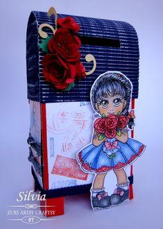 Silvia Scrap: Reto # 9 en Zuri Artsy Craftsy... San Valentín