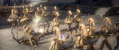 The Separatist war machine Battle Droid, Microsoft Word, War Machine, Clone Wars, Chandelier, Star Wars, Ceiling Lights, Image, Home Decor
