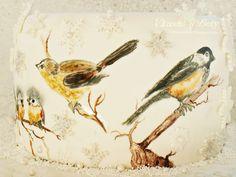 Вкусно с Бети: Торта с птички - Коледен календар - Ден 17-ти