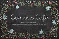 Curious Cafe Script by DesignLocket on Creative Market
