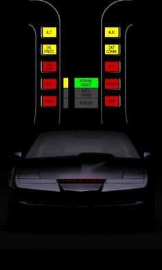 K.I.T.T. (Knight Industries Two Thousand) - (Knight Rider)