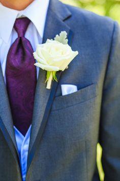 Shades of Purple{Twin Oaks Garden Estate} Summer Wedding|Photographer:  Leif Brandt Photography