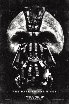 The Dark Knight Rises. Tom Hardy as Bane. 07.20.12