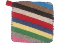 Felted Sweater Potholder — DIY How-to from Make: Projects