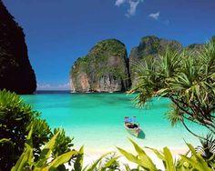 8- En playa , Tailandia.