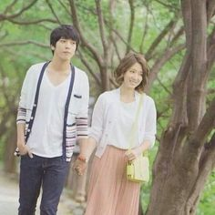 Heartstrings ♥ Cute couple~! Starring Park Shin Hye and CNBlue's Jung Yong Hwa ♡